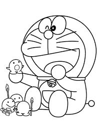 Doraemon Coloring Pages 12