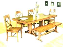 Small Wood Dining Table Wooden Tables With Bench Contemporary Set