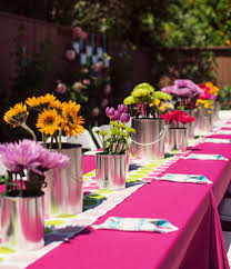 Cool Party Table Arrangements Inspiring Ideas For Stunning Decorations Birthdays Excellent