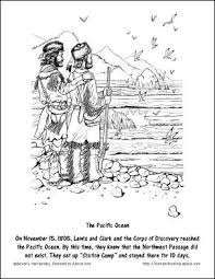 Free Lewis And Clark Printable Worksheets Coloring Pages