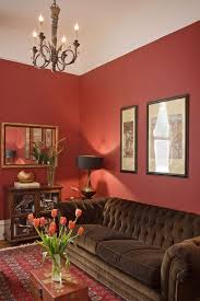 Red Couch Decorating Living Room Traditional With Walls Tufted Area Rugs