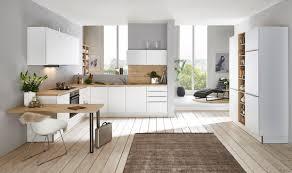 nolte küchen feel weiß softmatt wildeiche l form küche