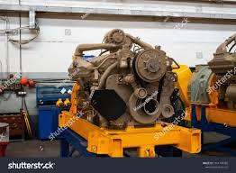 100 Turbine Truck Engines Large Diesel Engine Huge Warehouse Stock Photo Edit Now