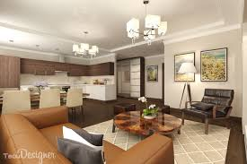 1 bedroom apartment bined living dining and kitchen areas