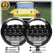 100 Chevy Truck Headlights Amazoncom 2018 New Arrival H6024 7 Inch Round LED For