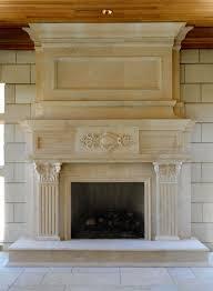 Limestone Fireplace Mantels Can Add Elegance to a Fireplace CIS2