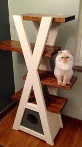 build your own cat tree touse get the free diy plans at