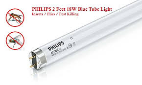 philips 18w 24in t8 black light fluorescent