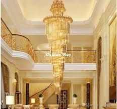 großhandel moderne kristall kronleuchter led kerzenhalter len moderne treppe kronleuchter villa wohnzimmer hängende licht freies verschiffen