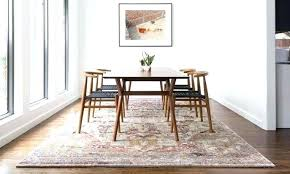 Dining Table Rug Size For Room Round Hallway Rugs Carpet Guide