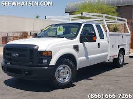 2010 Ford F-250 Super Duty XL UTILITY SERVICE, UTILITY BED SERVICE ...
