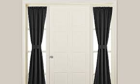 Sidelight Curtain Rods Magnetic by Alex Custom Curtains Custom Made Sidelight French Door And
