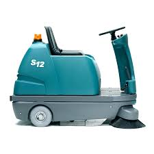 compact floor sweepers tennant company s12 sweeper battery