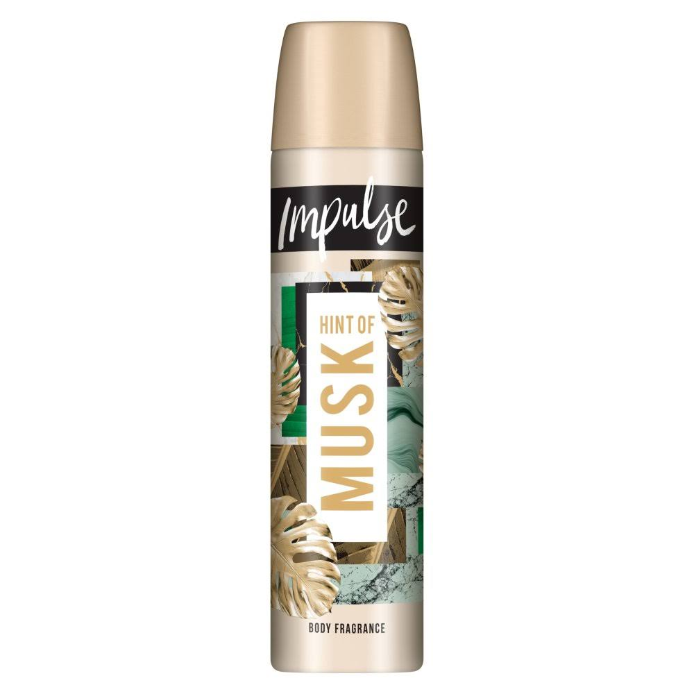 Impulse Body Spray - Hint of Musk - 75ml