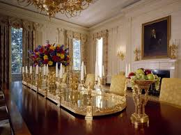 Exquisite Art Piece In White House Dining Room