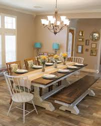 Perfect Farm Style Dining Room Tables 32 For Your Rustic With Regard In Farmhouse Kitchen
