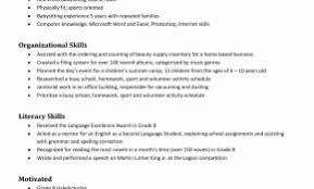 Sample Resume For Babysitting Jobs Fresh Functional Awesome Example Examples