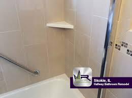 hallway bathroom remodel in skokie il regency home remodeling