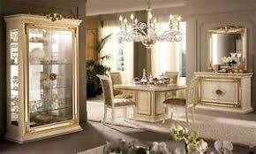 glasvitrine wohnzimmerschrank beige hochglanz luxus möbel