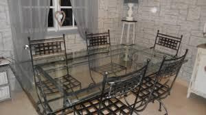 cuisine table et chaises fauteuils fer forgã ã vendre euros