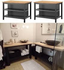 faire une salle de bain dans une chambre salle de bain recup avec faire un meuble de salle de bain