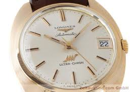Longines Ultra Chron 18 ct gold automatic Kal 431 Ref 8072 1