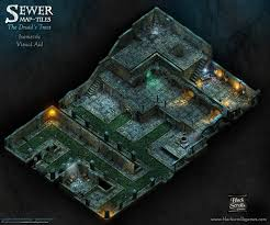 Dungeons And Dragons Tile Mapper by Sewer Map Tiles The Druid U0027s Trees Visual Aid By Bsgtony My