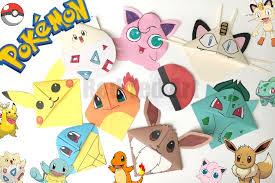 9 Pokemon Bookmark Corner Designs