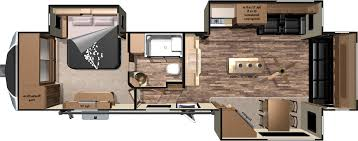 5th Wheels With 2 Bedrooms by Two Bedroom Fifth Wheel Home Designs