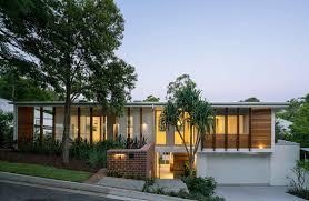 100 Modern Homes With Courtyards Auchenflower Courtyard House Mid Century Modern Brisbane