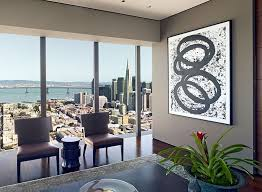 View In Gallery Gorgeous Abstract Wall Art For The Living Room