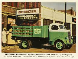 100 Coe Trucks Chevrolet Series V W COE Commercial Vehicles Planet