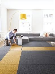 creative modular flor carpet squares ecofriendly and