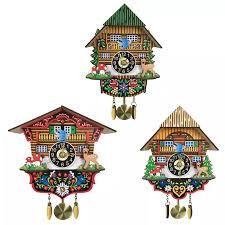3d cuckoo holz hängenden schaukel wanduhr für kinder wohnzimmer home restaurant dekoration