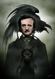 EDGAR ALLAN POE 115 X 165 Signed Print 2500 USD Available NOW