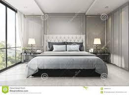 100 Modern Luxury Bedroom 3d Rendering Classic With Marble Decor Stock