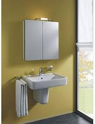 spiegelschrank belalu aluminiumspiegelschrank mit de