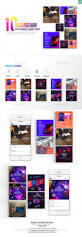 Cinzel Decorative Regular Download by 10 Instagram Post Banner Music Event By Wutip2 Graphicriver
