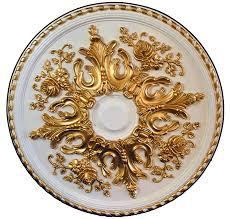 Ceiling Fan Medallions Menards by Rare Ornate Ceiling Medallion Large Chandelier Light Fixture