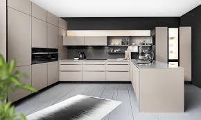 designerküche in taupe