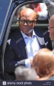 LA Reid The USA X Factor Judges Arrive For Auditions In Providence Rhode