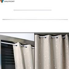 Spring Loaded Curtain Rod 300cm by 100 Telescopic Curtain Rod Argos Classic Accessories Spring