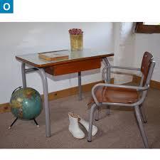 bureau enfant vintage bureau et fauteuil de maternelle circa 1950 bureau enfant vintage