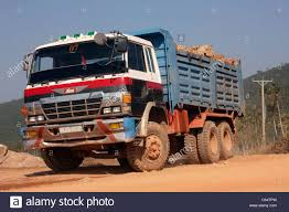 Japanese Manufactured Hino FS66 Dump Truck Transporting Rock ...