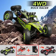 100 Monster Truck Toys For Kids 12428 RC Cars 112 Remond Control OffRoad Vehicle