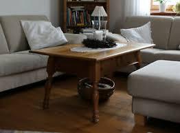 details zu wohnzimmertisch rustikal holz mit schublade