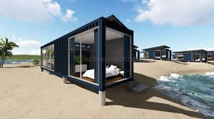 100 Ocean Container Houses Deluxe View Modular Prefabricated 40feet Shipping