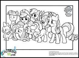 Pony Coloring Pages My Little Friendship Is Magic Twilight Sparkle Alicorn Book Games Online