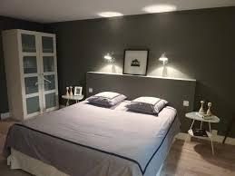 chambre avec tete de lit tete de lit avec lumiere integree maison design bahbe com avec tete