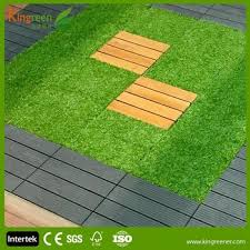 wpc interlocking decking tiles easy to install with interlocking